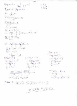 |log 2 x+1|-1/(|log 2 x+1|-2)>=2